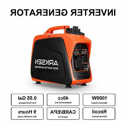 1000W Quiet Generator CARB EPA