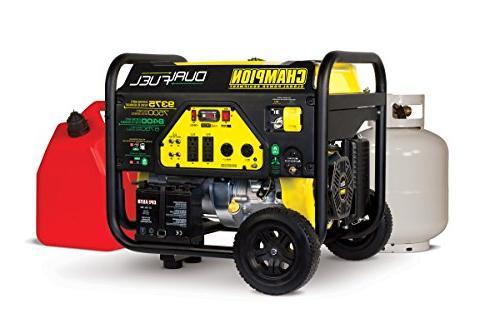 Champion 7500-Watt Fuel Portable Start