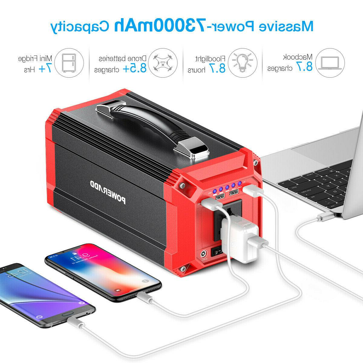 NEW GOALZERO FLIP 30 PHONE & TABLET CHARGER 7800 mAh COLOR:
