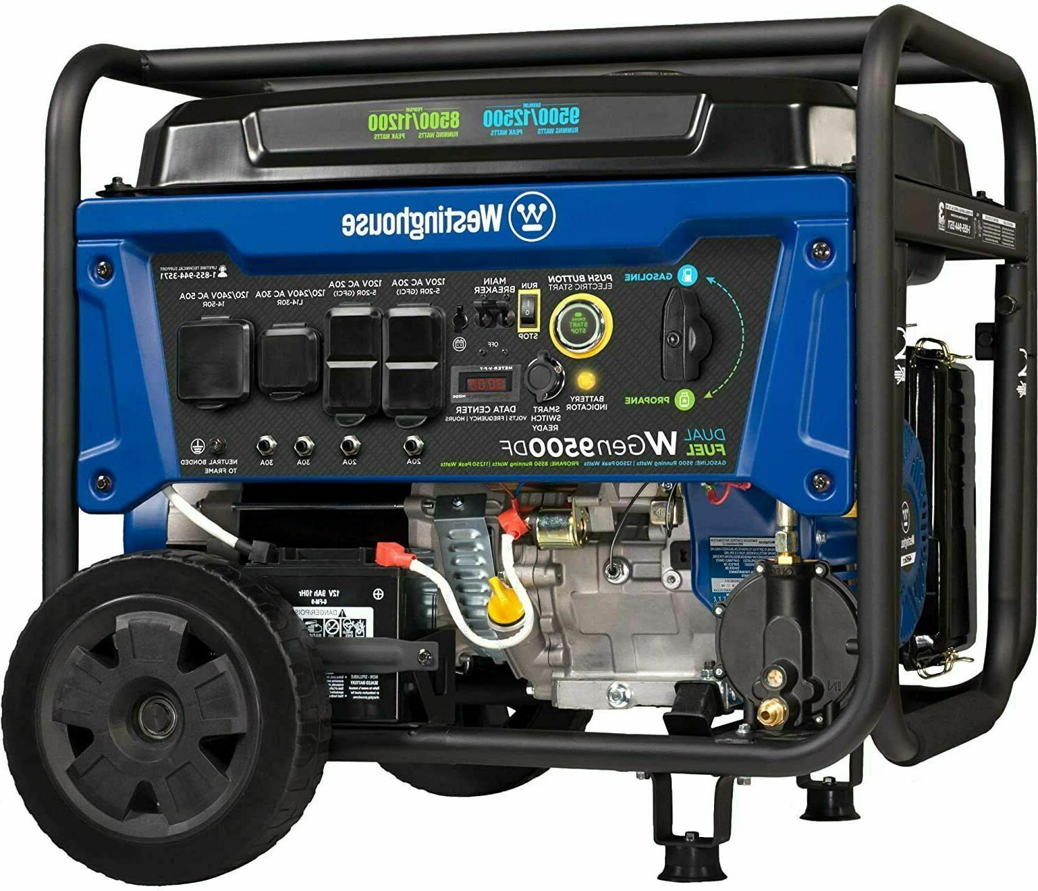 Westinghouse 12,500-W Dual with Remote