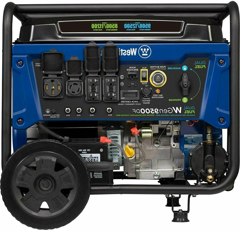 12 500 w portable dual fuel gas