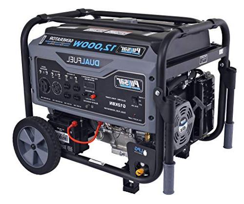 Pulsar Portable Generator Gray Start, G12KBN