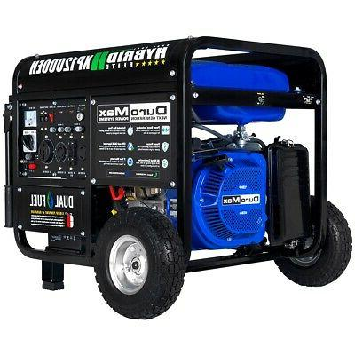 DuroMax XP12000EH Dual Fuel Portable Generator - 12000 Watt