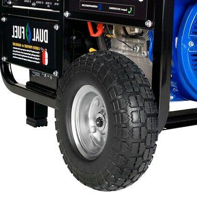 DuroMax XP12000EH HP Portable Hybrid Propane Generator