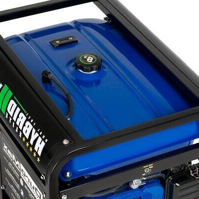 DuroMax XP12000EH HP Portable Gas Propane Generator