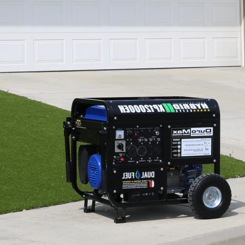 DuroMax XP12000EH 12,000-Watt 18 HP Propane Generator
