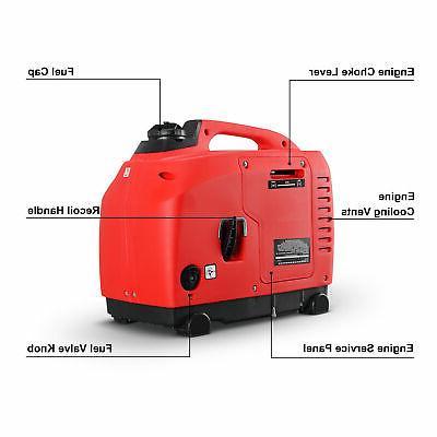 1250-Watts Portable Generator EPA 4-Stroke
