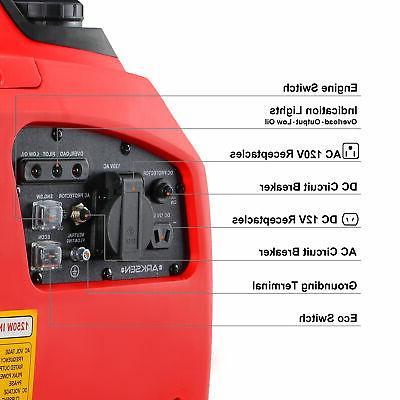 1250-Watts Portable Inverter Generator Gas