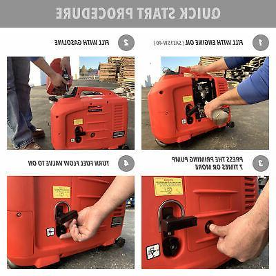 1250-Watts Generator CARB Gas