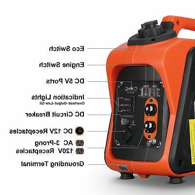 1500W Portable Powered Quiet Inverter EPA Compliant