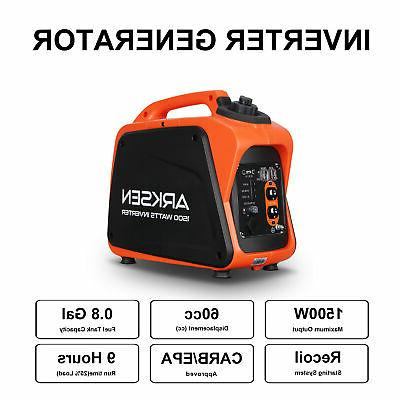 1500W Portable Powered Quiet EPA