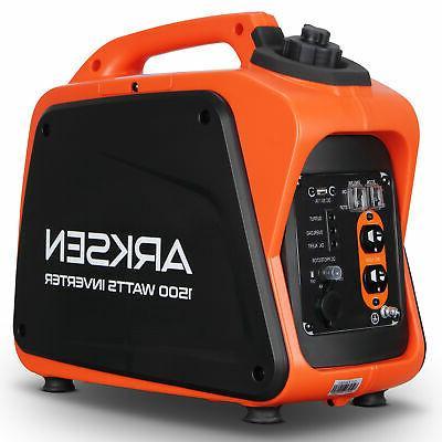 1500w portable gasoline powered quiet inverter generator