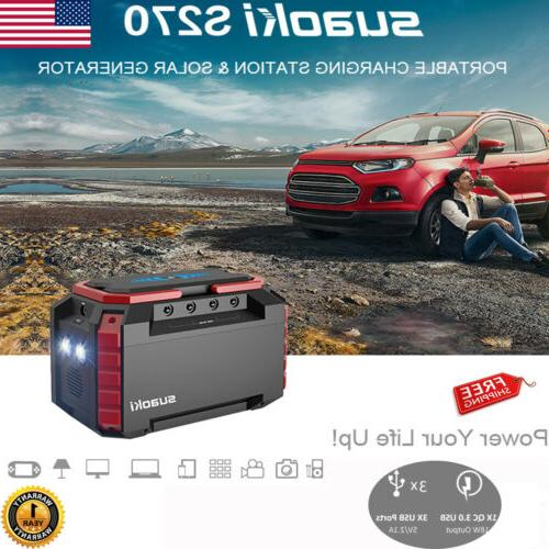 150wh portable mini solar generator power charging