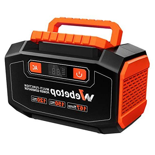 167wh portable generator inverter battery