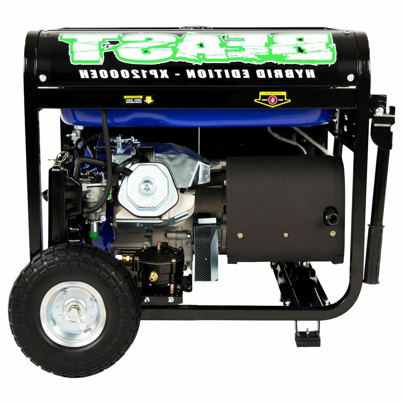 Portable Hybrid Gas Propane Generator RV