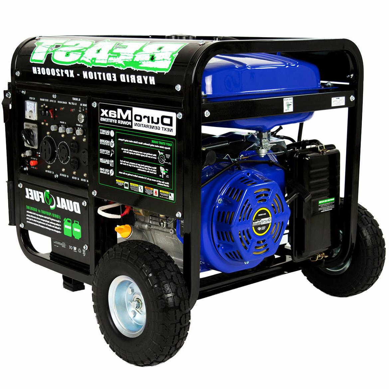 DuroMax Portable Hybrid Generator RV Home