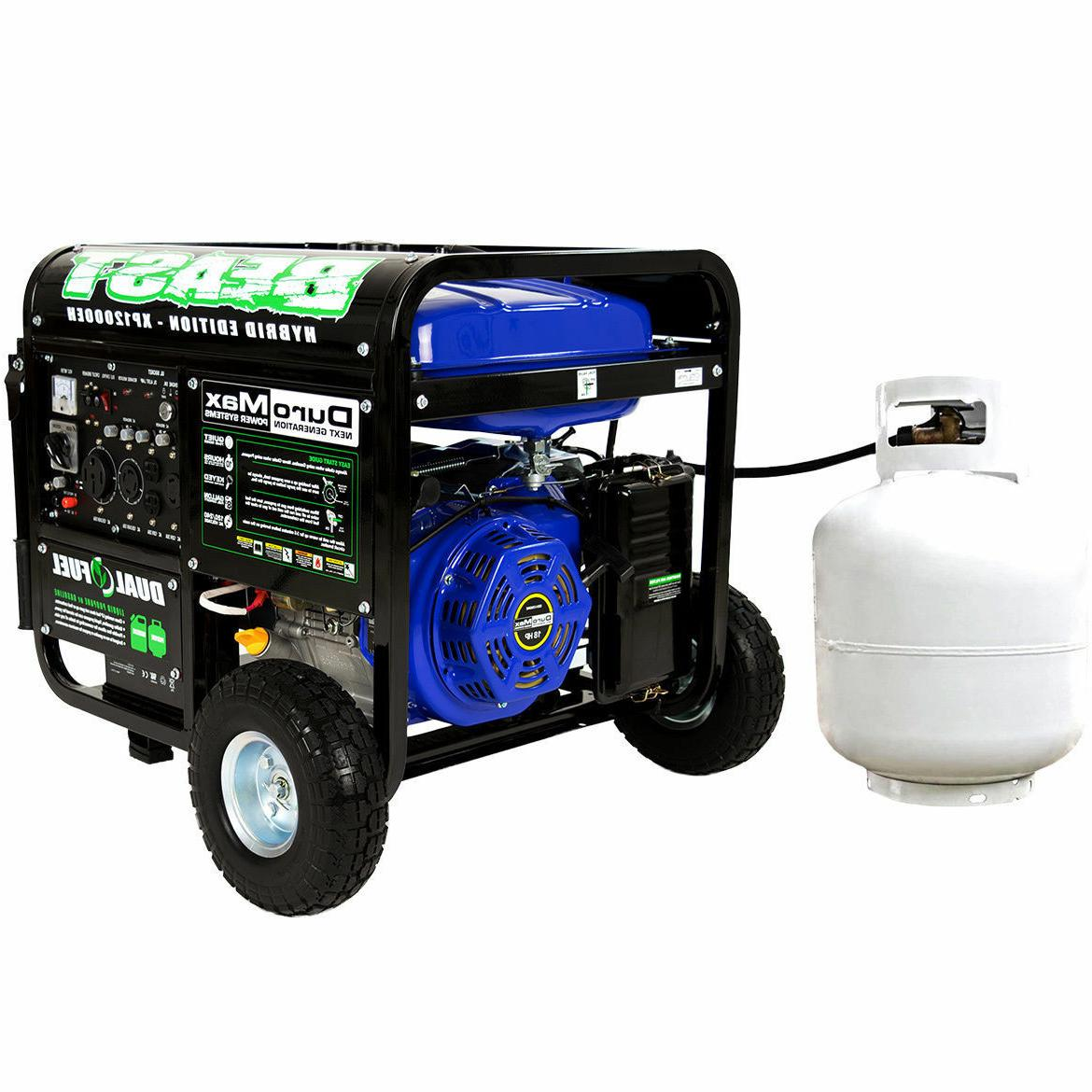 DuroMax Portable Hybrid Gas