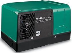 Cummins Onan 2.5HGJBB-1121 RV QG 2500 Watt LP Vapor Generato