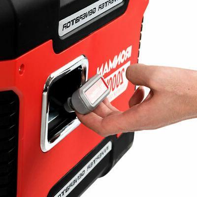 2000W Portable Inverter Gasoline Generator Ultra Quiet Stroke