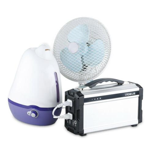 Suaoki Outdoor Solar Generator Power Portable Storage Invertor