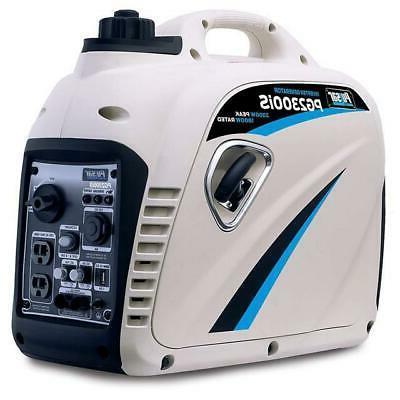 2300 watt portable gas powered super quiet