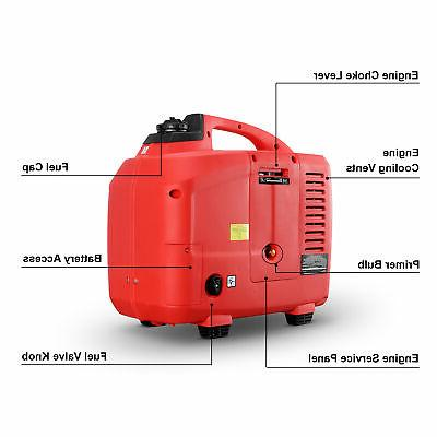 2750w Lightweight Generator Camping
