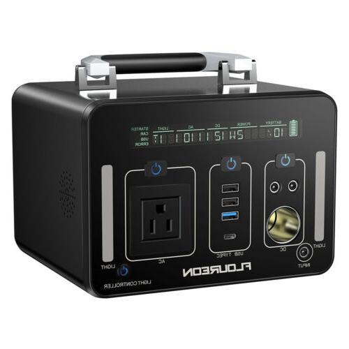 Portable Power Bank AC DC USB US