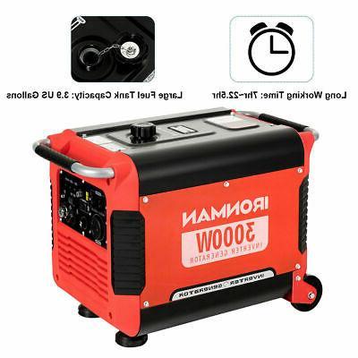 3000W Generator Quiet 4 Stroke Single