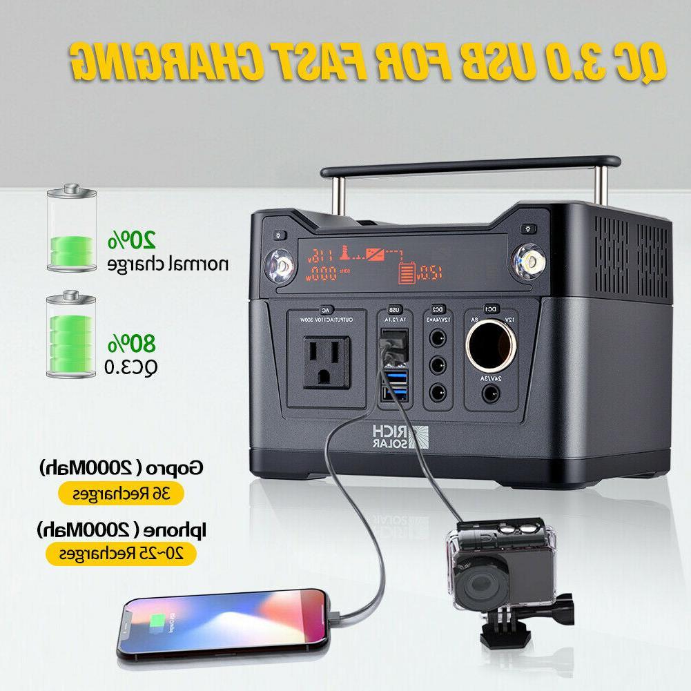 300W Portable Power Station, Backup