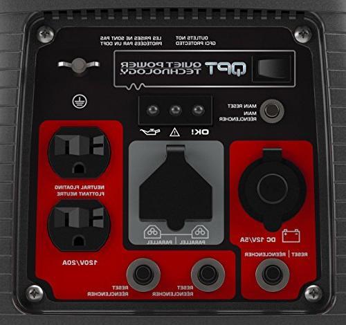 Briggs Stratton 30651 P2200 PowerSmart Series 2200-Watt Inverter Generator with Parallel Capability