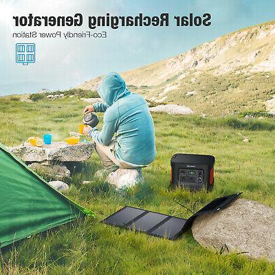 280Wh/78000mAh Pack Generator for Camping Emergency