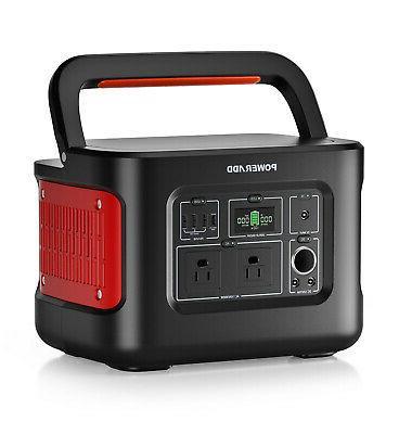 280Wh/78000mAh Generator for Camping Emergency