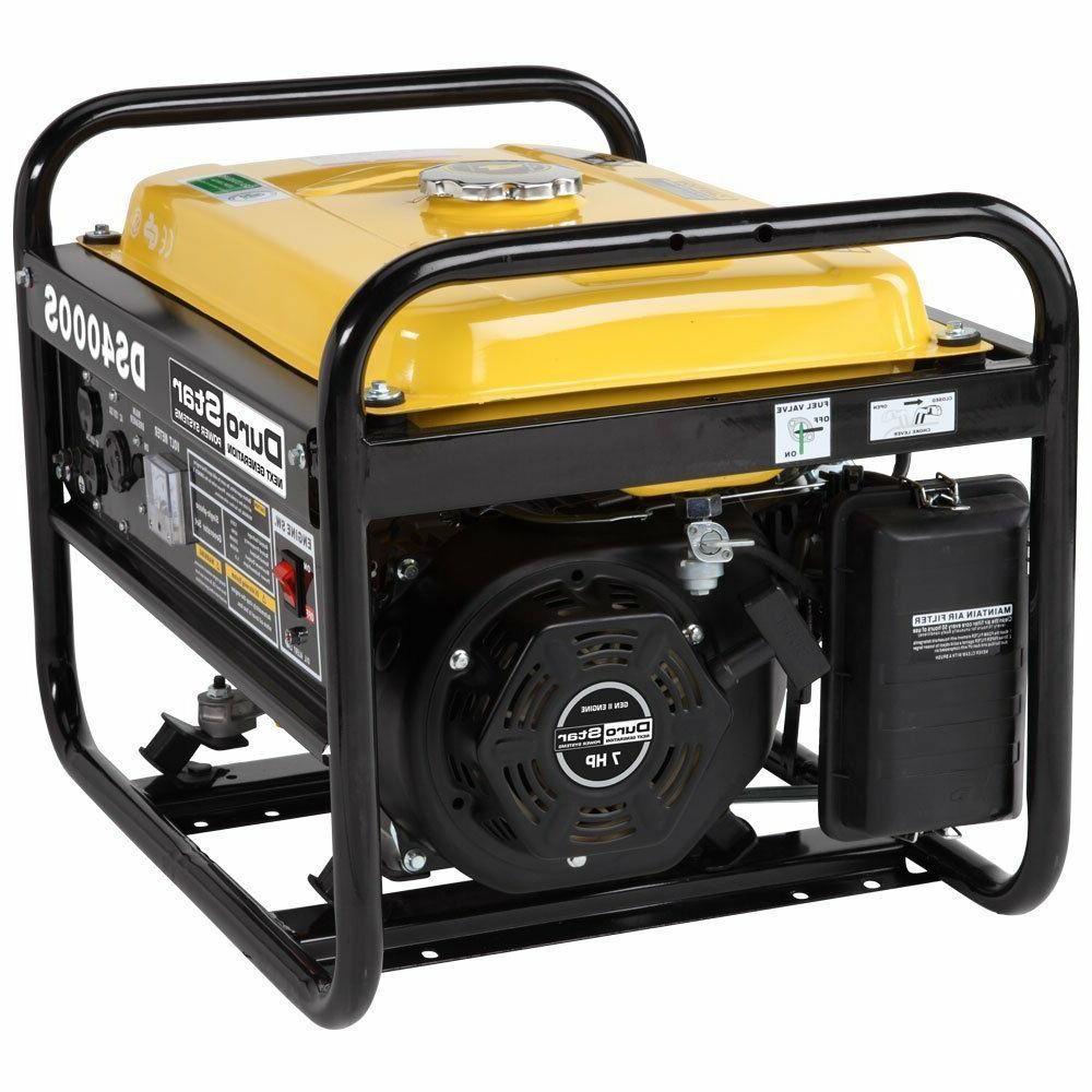 Durostar 7.0hp 4,000S Watt Portable Gas Generator