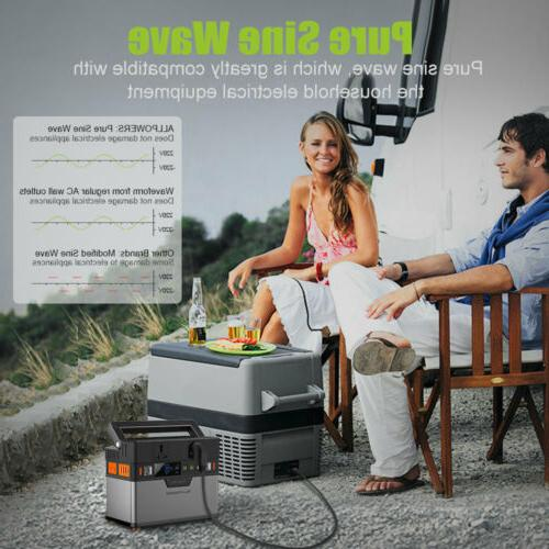 372Wh QI Power Station Portable Emergency Power