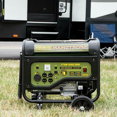 Sportsman Portable RV Outlet Gasoline Auto-Low Oil Shutdown