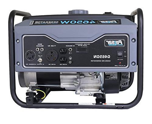 Pulsar 4,650W Portable Generator RV Port in Gray, G465GN