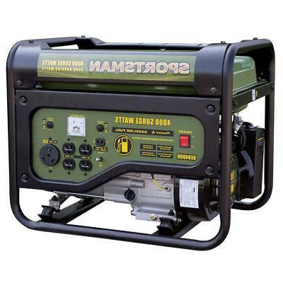 Sportsman 4000/3500-Watt Gasoline Portable Generator RV Outlet
