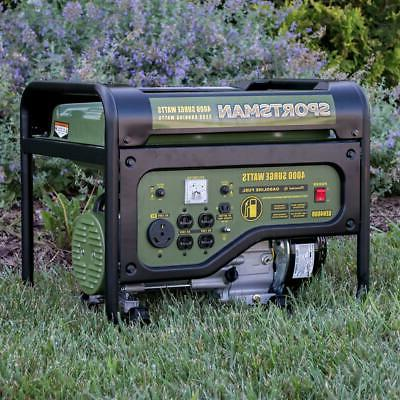 Sportsman Powered Portable Generator With Outlet 120V