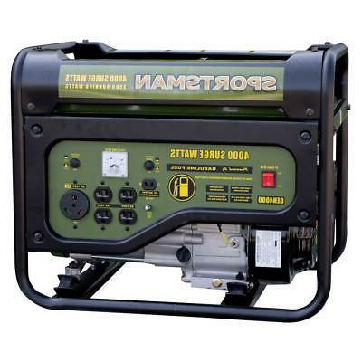 Sportsman Portable Generator RV Outlet 3,500V Oil Shutdown