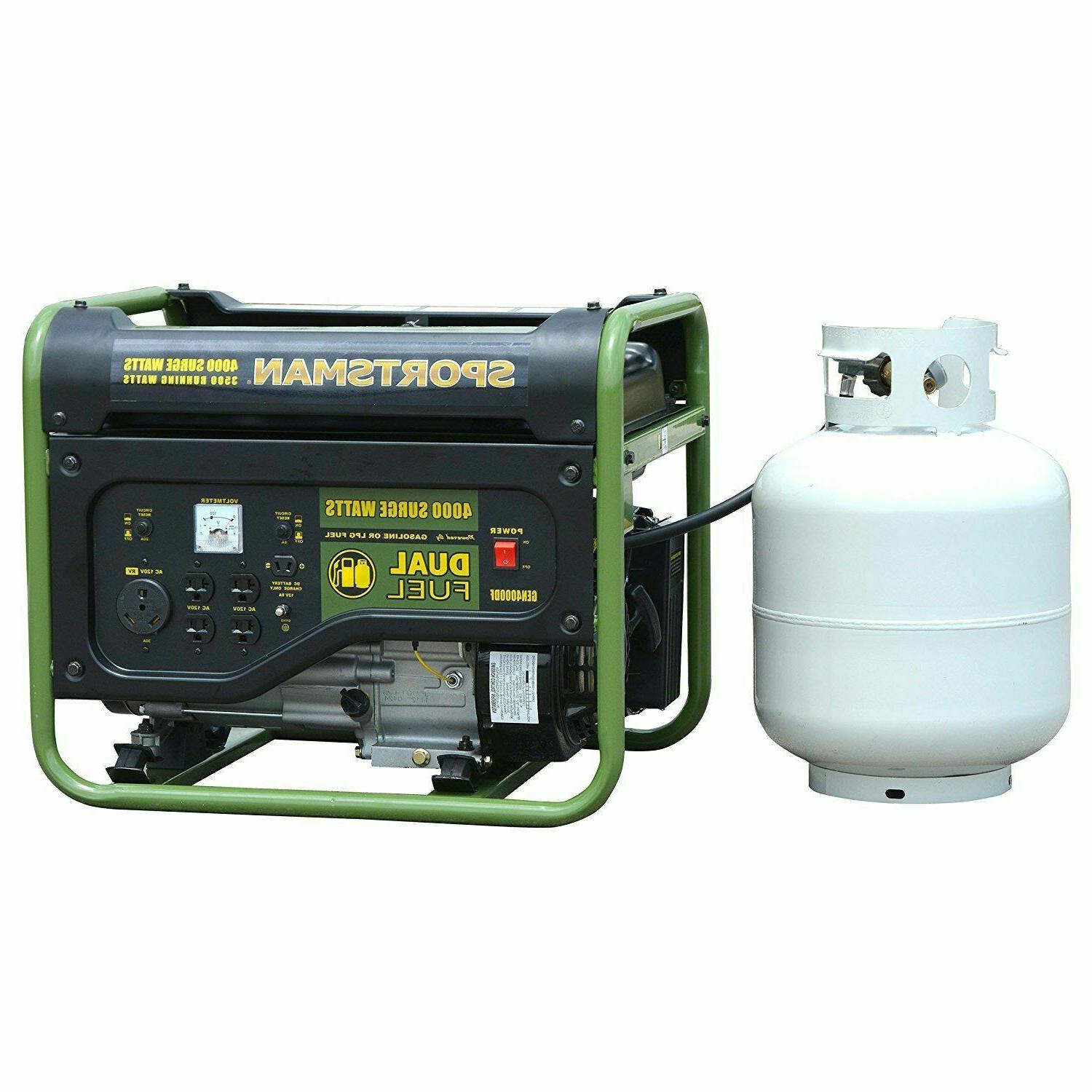 Sportsman Portable Fuel Gas Powered Generator Home Backup RV Camping