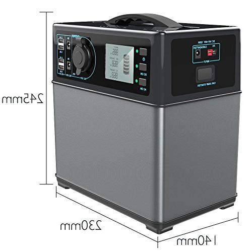 Generator ion Battery by Solar/AC 300W AC Inverter