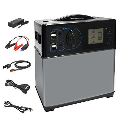 400wh portable solar generator power