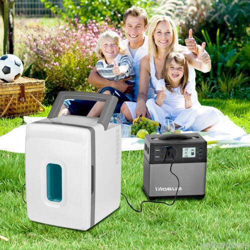 400Wh Generator Supply Outlet 4 USB Starter US
