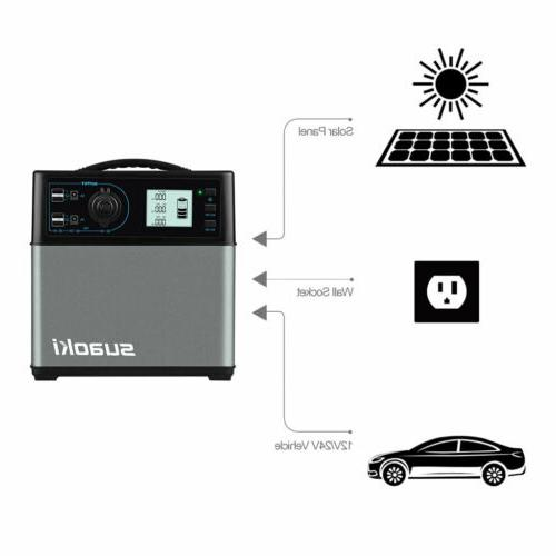 Suaoki 400Wh Solar Gas Power Supply