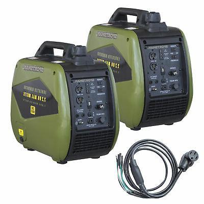4400 watt dual fuel portable inverter generator
