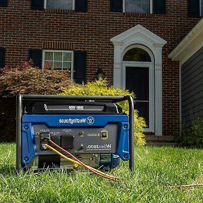 Westinghouse Gas RV Ready Generator Home RV Camping