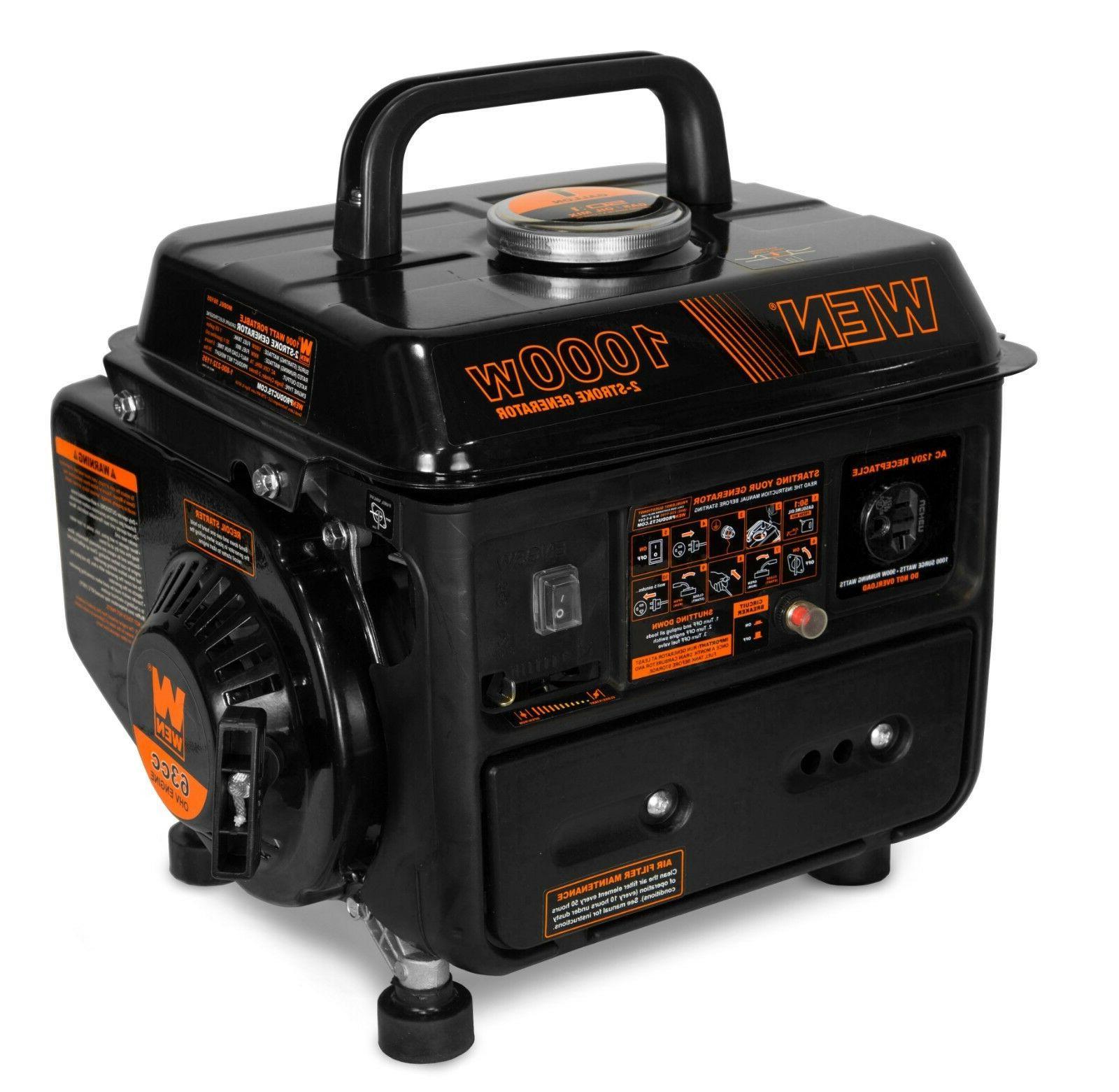 56105 1000 watt portable generator carb compliant