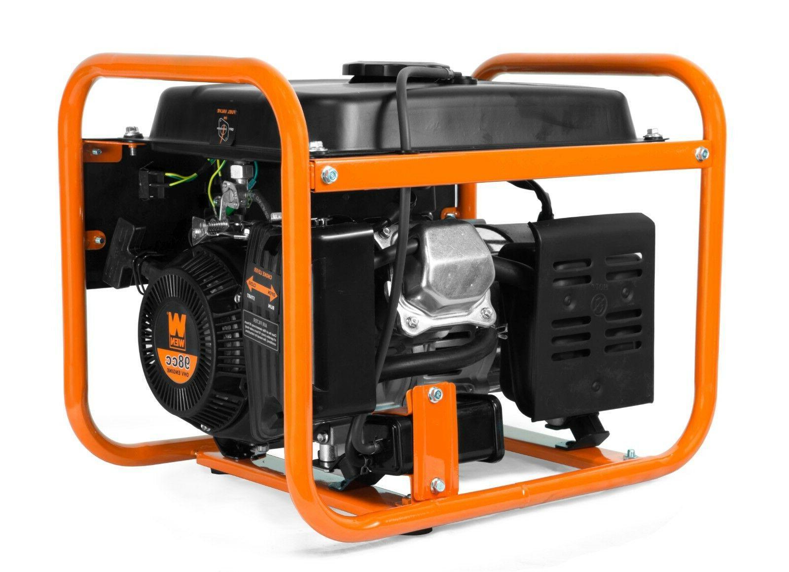 WEN 56155 1550-Watt Portable Generator, CARB
