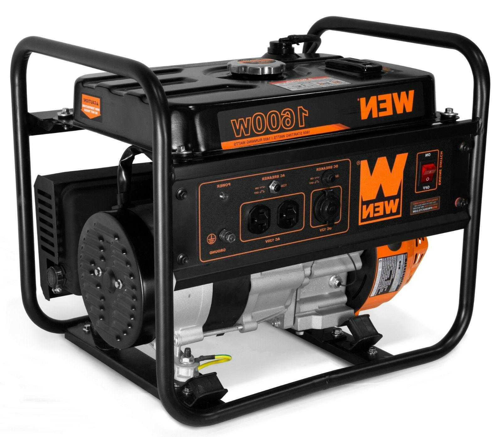 WEN 56160 98cc 1600-Watt Power Generator, CARB