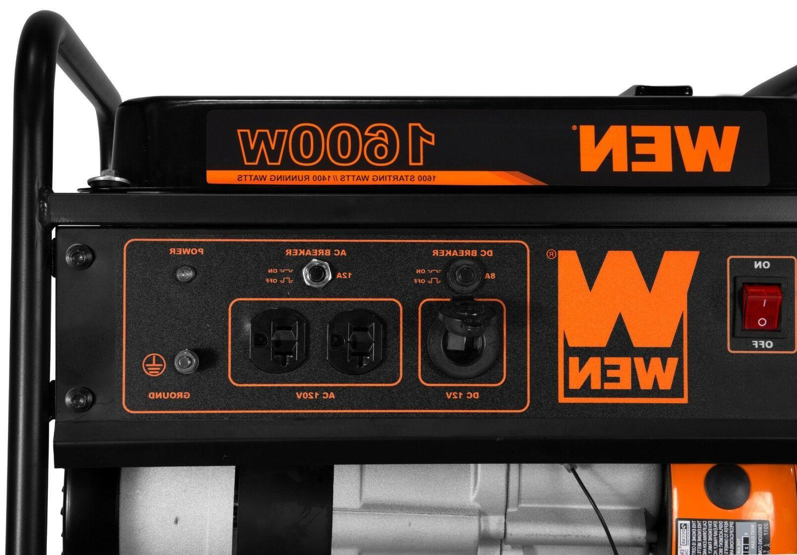 WEN 56160 4-Stroke 98cc 1600-Watt CARB Compliant